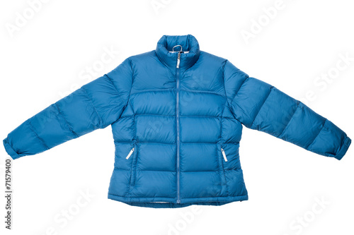 Blue down jacket - 71579400
