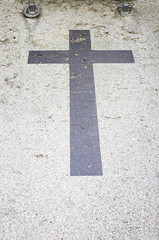 Black Cross grave