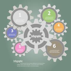 Gears Infographics