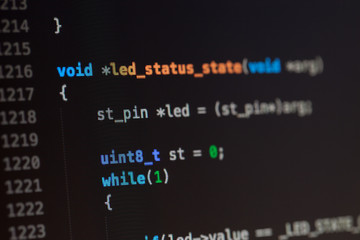 C computer language source code