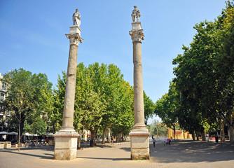 Alameda de Hércules, Sevilla, Andalucía, España
