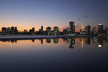 Japan Tokyo Tower night view