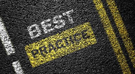 best practice on the asphalt road