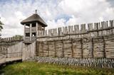 Ancient settlement in Biskupin - 71581616