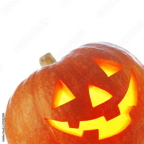 canvas print picture Halloween pumpkin