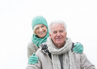 winter senior couple 1