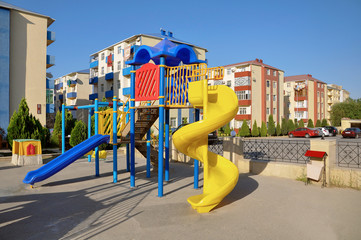 children playing ground