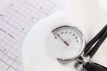 Salzkonsum kann den Blutdruck erhöhen