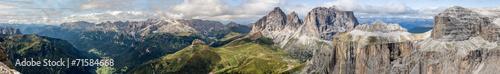 Fotobehang Bergen Dolomites Panorama