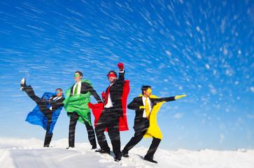 Superhero Team of the Snow