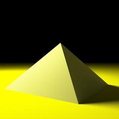 Pyramide im Nichts