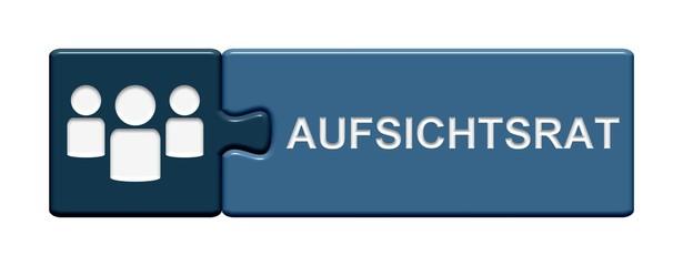 Puzzle Button blau: Aufsichtsrat