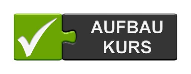 Puzzle Button grün grau: Aufbaukurs