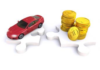 3D car financing