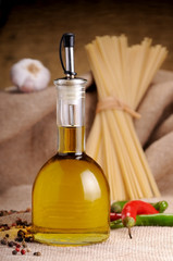 Olive oil for seasoning pasta