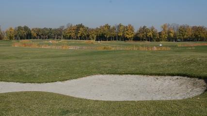 Golf course in Mezhigirya of ex-president Yanukovich