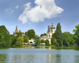 Castle Franzensburg, Laxenburg Water Castle, Austria near Vienna