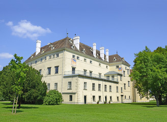 Altes Schloss (Old Castle) in Laxenburg, Austria near Vienna