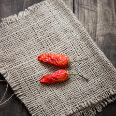 Dried red chilly pepper