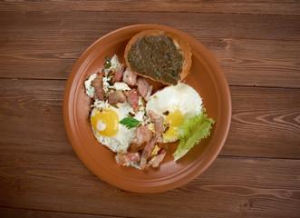 European country breakfast
