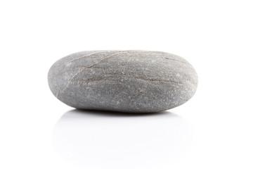 Zen stone - isolated over white