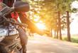 motorbike greeting - 71589678