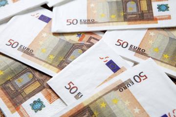 fond de billets de 50 euros