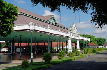 Bangsal Pagelaran, the front hall of Yogyakarta Sultanate Palace