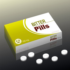 Bitter Pills Medicine Package