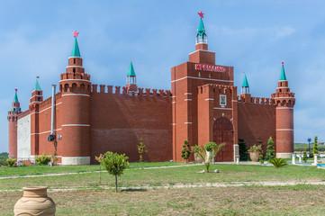 Copy of Moscow Kremlin in Greece