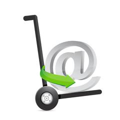 at online symbol illustration design