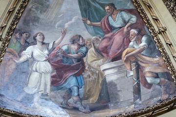 Rieti (Italy), cathedral interior