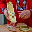 Leinwanddruck Bild - Raclette