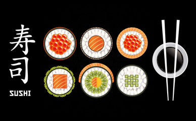 Sushi Pieces Collection