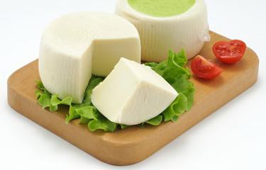 Caciotta, formaggio fresco