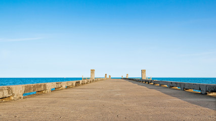 Dock at beach