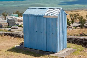 toilettes publiques rodriguaises à pointe Canon
