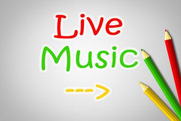 Live Music Concept