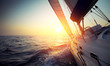 Leinwanddruck Bild - Sail boat
