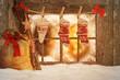 canvas print picture - Frohe Weihnachten