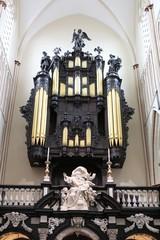 Organ of St. Salvator's Cathedral, Bruges, Belgium.