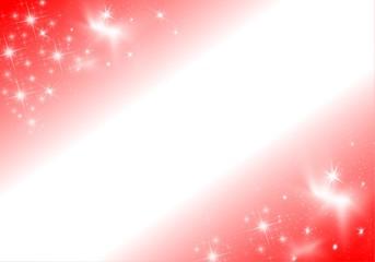 étoiles bandeau blanc - rouge