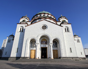 Temple of St. Sava ,located in Belgrade,capitol of Serbia