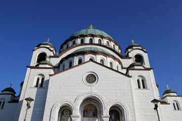 Temple of St. Sava ,located in Belgrade,capitol of Serbia