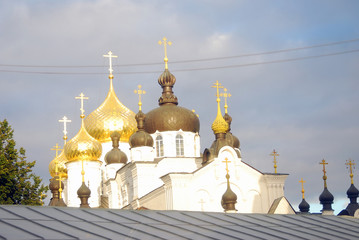 Anastasiinsky monastery in Kostroma, Russia.