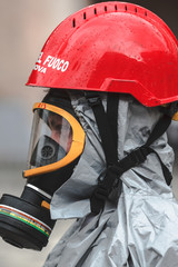 Corso di formazione dei vigili del fuoco