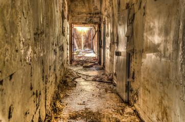 Couloir insalubre