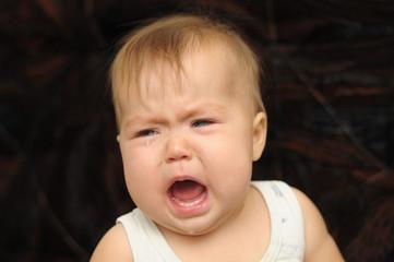 baby crying emotionally