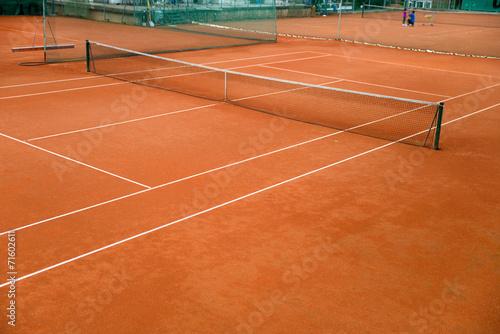 Fotobehang Stadion Tennisplatz