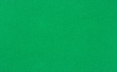 Green poker or pool table woolen baize